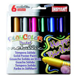 PlayColor pocket color metallic box 6