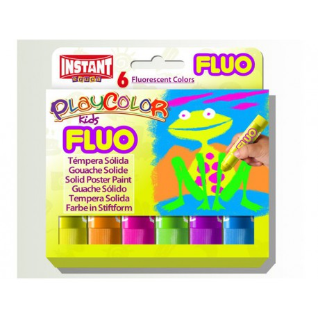 Playcolor Fluo box 6 colori ass - Instant Playcolor one