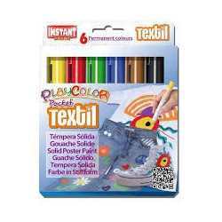 Playcolor pocket Textil box 6 ass - per tessuti