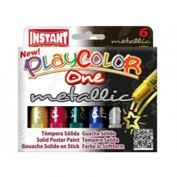 Playcolor One Metallic box 6