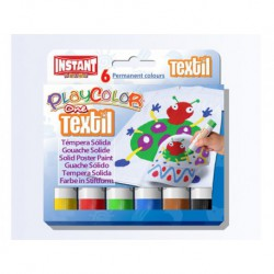 Playcolor textil box 6 ass - per tessuti
