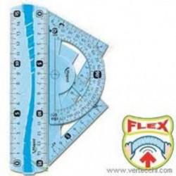 Mini kit metrico disegno flessibile 4 pezzi Maped