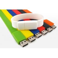 Braccialetti USB 1Gb in silicone